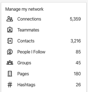 Suzanne McDonald LinkedIn connections and stats